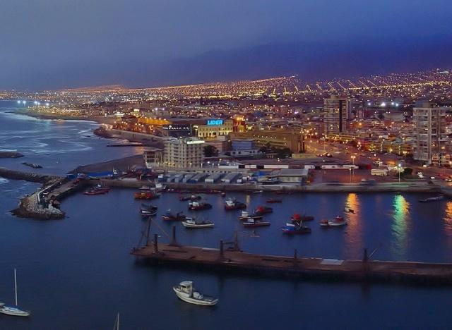 В океане у берегов Чили произошло землетрясение